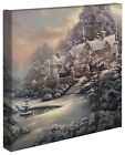 Thomas Kinkade Holiday Collection 14 x 14 Gallery Wrapped Canvas (Choice of 4) <br/> Save 44% on eBay Deals