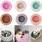 Cotton Large Pet Dogs Cats Bed Soft Warm Knitting Kennel Mat Puppy Cushion House