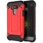 For LG G5 Shockproof Hybrid Heavy Duty Hard Armor Dual Layer Cover Case