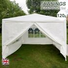 4x3m Gazebo Marquee Party Tent With Sides Waterproof Garden Patio Outdoor Canopy