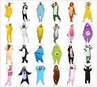Giraffe Zebra Lion Wolf Snake Onesiee Kigurumi Fancy Dress Costume Hoody Pyjamas