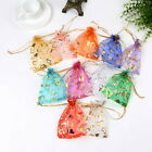 Organza Bags Jewelry Candy Pouch Mesh Drawstring Wedding Party Favour Gifts Kids