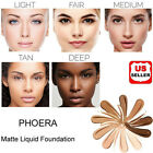 Внешний вид - PHOERA Foundation Makeup Full Coverage Fast Base Brighten long-lasting Shade US
