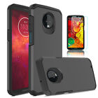 For Motorola Moto Z3 / Z3 Play Shockproof Armor Case Cover / HD Screen Protector