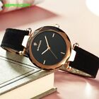 SANDA Genuine Leather Gold Women Watches Ladies Fashion Famous Jewelry Wrist ...