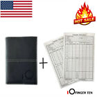 Golf Scorecard Holder PU Leather Yardage Book US Stock Callaway Titleist Sunfish