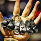 Pair of 3D Slides Slippers Mini Sandals Mini Sneaker Keychain