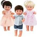 Baby Dolls with Down's Syndrome Realistic Lifelike Soft Vinyl Dolls, 14 Inches