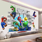 2019 New Super Mario 3d Kids Removable Wall Decal Vinyl Stickers Art Home Decor