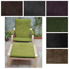 NEW DESIGN (EASY FIT Slipcover) NO ZIPPER-Tailor Made For IKEA Poang Arm Chair