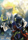 Kingdom Hearts Poster Sora, Riku, Roxas Group High Grade Glossy Laminated