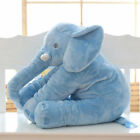 Elephant Stuffed Animal Plush Toy for Children Kids Baby Bed Grey Pillow Cushion <br/> ❤US STOCK ❤FAST DELIVERY ❤EASY RETURN❤High Quality