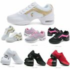 Women Jazz Dance Dancing Shoes Increased Female Mesh Soft Bottom Sports Trainers
