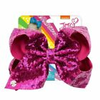 8 inch JOJO SIWA Large Girls Kids Sequin Bow Rainbow Bowknot Hair Clips