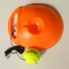 HOT Single Tennis Trainer Portable Fill & Drill Base Youth Practice Training Aid