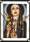 The Lord's Chips by Brycen Sullivan Catholic Nun Floral Framed Wall Art Print