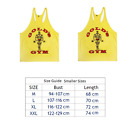 Golds Gym Vest Mens Muscle Joe Tank Top Fitness Stringer Bodybuilding Muscle Tee