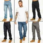 Kyпить Enzo Mens Cargo Combat Jeans Trousers Casual Work Denim Pants All Waist Sizes на еВаy.соm