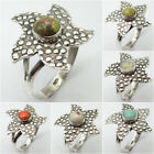 Traditional Jewelry ! 925 Sterling Silver MOHAVE STICHTITE & Other GEMSTONE Ring