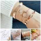 Внешний вид - Fashion Women Girls Bracelet Set BOHO Adjustable Bangle Jewelry Prom Gift Lot