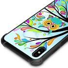 For Apple iPhone XS Max / 10S Max Slim Tempered Glass Phone Case Hard Cover