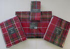 "Внешний вид - Ralph Lauren Baker Plaid Christmas 4 Napkins/70"" or 60x84"" Tablecoth/4 Placemats"