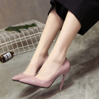 Women's office shoes Ladies High Stiletto Heels Leather Pointed Toe Party Shoes