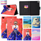 For iPad Mini 2 3 4 97 2018 Pro Smart Patterned Magnet Flip Leather Case Cover