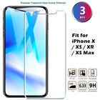 [3-Pack] Tempered Glass Screen Protector Saver Skin Cover for iPhone...