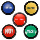 Bullshit Maybe No Sorry Yes Sound Talking Button Home Party Funny Gag Toy Novel