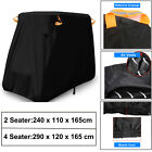2 / 4 Seater Golf Cart Cover UV Dust Protector Storage For EZ GO Club Car Yamaha