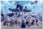 STAR WARS Movie Silk Wall Poster All Characters 13x20 20x30 inch $12.94 CAD on eBay