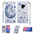 For Samsung J3 J5 J7 2018 2017 USA PU Leather Card Wallet Flip Stand Cover Case