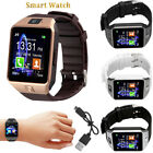 Quality DZ09 Bluetooth Smart Watch Phone &Camera SIM Card For Android IOS Phones