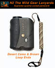 N2 The Wild Gear Lanyards Desert Camo & Brown Coiled Paracord Lanyard Tether
