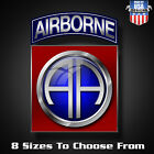 82nd Airborne Decal Sticker Multiple Sizes Army Vehicle Laptop