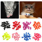 20Pcs New Simple Soft Rubber Pet Dog Cat Kitten Paw Claw Control Nail Caps Cover