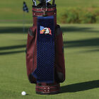 """Embroidered Tri-fold Golf Towel 16""""x22"""" With Hook 100% Cotton Players Use Ping"""