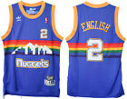 Alex English #2 Denver Nuggets Mens Royal Blue Hardwood Classic Throwback Jersey on eBay