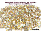 Swarovski 2088 Flat Back No Hotfix   Color Shimmer  AB Effects Gross/144 Pieces