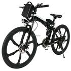 26inch 21 Speed Foldable Electric Power Mountain Bicycle Lithium-Ion Out Sport&