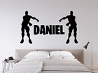 Personalised Wall Sticker Vinyl For Bedroom Childrens Xbox Ps4 Game Diy Kids