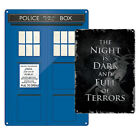 TV Show Tin Metal Sign. Game of Thrones Dr Who Home Wall Decor Cool Gift Fan