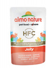 Almo Nature HFC Jelly  Wet Cat Food Pouch with Salmon (Pack of 24 x55g)