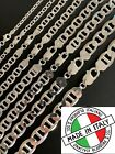 Real Solid 925 Sterling Silver Mariner Gucci Link Chain Or Bracelet  ITALY