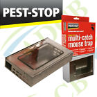 Pest Stop Multi-Catch Mouse Trap Humane Effective Safe No Poisons or Chemicals