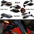 MOTORCYCLE LED TURN SIGNAL Integrated MIRRORS FOR YAMAHA YZF 600 YZF R1 R6 R6S $34.66 USD on eBay