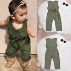 US Stock Newborn Toddler Baby Girl Romper Jumpsuit Outfits Sunsuit Clothes 3M-3T