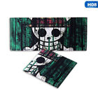 Anime One Piece Wallet Ace/Luffy Coin Pocket Purse Short Wallets for Young