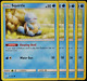 Pokemon - SM9 - Team Up -  4x  Squirtle - 22/181  - Non Holo  - NM/M